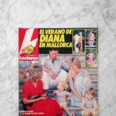 Magazine Collection - LECTURAS - 1986 - DIANA, SARA MONTIEL, PASTORA VEGA, CARMEN CERVERA, EVA NASARRE, DALLAS - 160222190