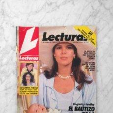 Coleccionismo de Revistas: LECTURAS - 1986 CAROLINA, JUNCAL RIVERO, ESTEFANIA, DIANA, MECANO, ROBERT ENGLUND, REMINGTON STEELE. Lote 160227378
