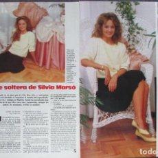 Magazine Collection - RECORTE REVISTA LECTURAS Nº 1793 1986 SILVIA MARSÓ - 160455522