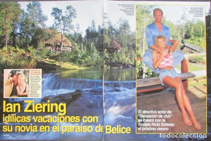 RECORTE REVISTA LECTURAS Nº 2338 1997 IAN ZIERING 5 PGS (Coleccionismo - Revistas y Periódicos Modernos (a partir de 1.940) - Revista Lecturas)