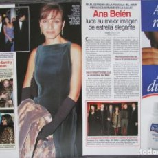 Magazine Collection - RECORTE REVISTA LECTURAS Nº 2338 1997 ANA BELEN - 160461494