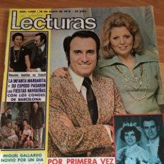 Coleccionismo de Revistas: REVISTA LECTURAS 1239 - MANOLO ESCOBAR - DOLORES VARGAS. Lote 160777756