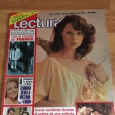 Coleccionismo de Revistas: REVISTA LECTURAS 1244 - NADIUSKA - ROCIO JURADO - SARA MONTIEL. Lote 160777984