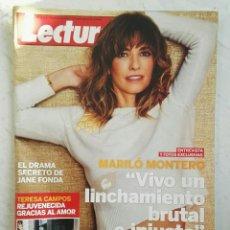 Coleccionismo de Revistas: REVISTA LECTURAS OCTUBRE 2014 MARILÓ MONTERO. Lote 160936925