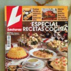 Coleccionismo de Revistas: LECTURAS - ESPECIAL RECETAS COCINA Nº 10. Lote 161496438