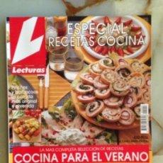 Coleccionismo de Revistas: LECTURAS - ESPECIAL RECETAS COCINA Nº 09. Lote 161496538