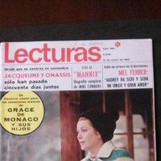 Coleccionismo de Revistas: GRACE KELLY-CAROLINA DE MONACO-ESTEFANIA-AUDREY HEPBURN-SEAT 850-ROCIO DURCAL-MISS EUROPA-EUROVISION. Lote 171594954