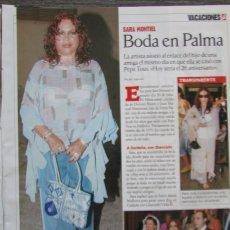 Coleccionismo de Revistas: RECORTE LECTURAS Nº 2785 2005 SARA MONTIEL. Lote 163003334