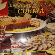 Coleccionismo de Revistas: LECTURAS ESPECIAL RECETAS DE COCINA REGIONAL FAMOSOS LOLA FLORES LADY DI LISBOA REY REINA SOFIA LORE. Lote 163503454