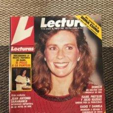 Coleccionismo de Revistas: REVISTA LECTURA NÚMERO 1905 -OCTUBRE 1988 - ISABEL PANTOJA; SANDRA DOMECQ; DORESTE; ISABEL PREYSLER. Lote 164905586