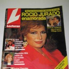 Coleccionismo de Revistas: LECTURAS - NÚM. 2117 - ROCÍO JURADO ENAMORADA - 30.10.1992 - 135 PÁG.. Lote 165489374