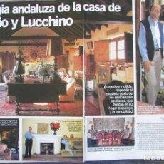 Coleccionismo de Revistas: RECORTE LECTURAS Nº 2354 1997 VICTORIO Y LUCCHINO. 5 PGS. Lote 165923918