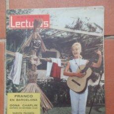 Coleccionismo de Revistas: REVISTA LECTURAS Nº 583. 24 DE JUNIO DE 1963. PORTADA MARISOL.. Lote 166178334