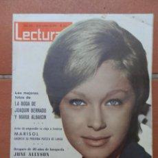 Coleccionismo de Revistas: REVISTA LECTURAS Nº 653. 23 DE OCTUBRE DE 1964. PORTADA MARISOL.. Lote 166179050