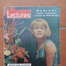 Coleccionismo de Revistas: REVISTA LECTURAS Nº 672. 5 DE MARZO DE 1965. PORTADA MARISOL.. Lote 166180406