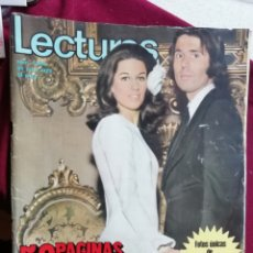 Coleccionismo de Revistas: LECTURAS 1058 DE 1972. RAPHAEL. Lote 166189682