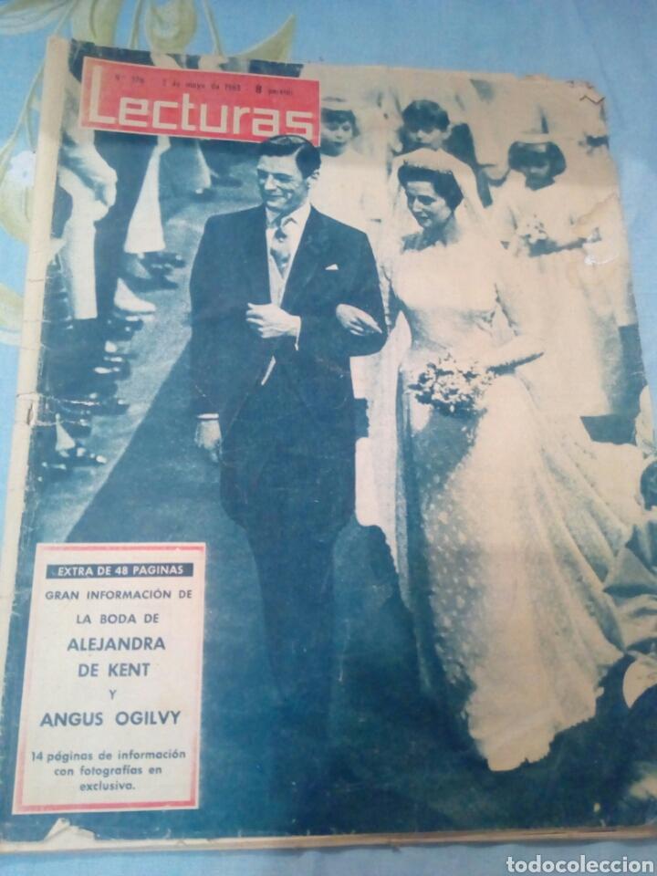REVISTA LECTURAS NÚMERO 576 AÑO 1963 (Coleccionismo - Revistas y Periódicos Modernos (a partir de 1.940) - Revista Lecturas)