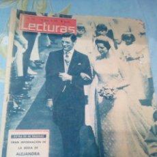 Coleccionismo de Revistas: REVISTA LECTURAS NÚMERO 576 AÑO 1963. Lote 166316992