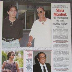 Coleccionismo de Revistas: RECORTE REVISTA LECTURAS Nº 2311 1996 SARA MONTIEL. Lote 166995848