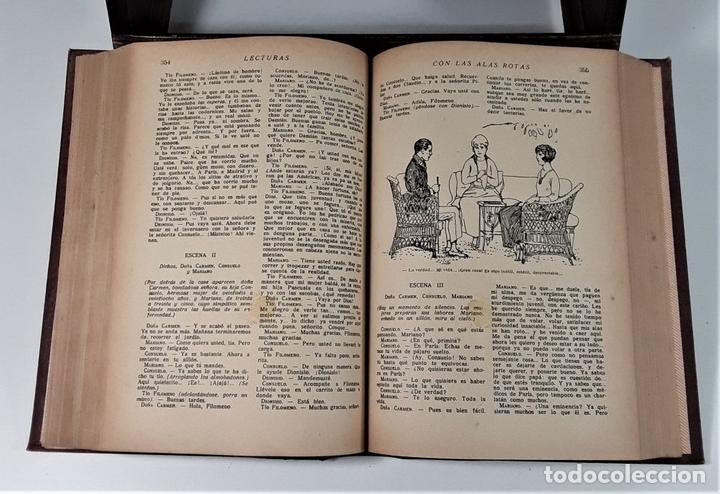 Coleccionismo de Revistas: REVISTA MENSUAL. LECTURAS. AÑO III. 6 EJEMPLARES EN I TOMO. BARCELONA. 1923. - Foto 9 - 167390988