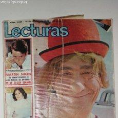 Coleccionismo de Revistas: REVISTA LECTURAS 12 MARZO 1976. Lote 167577888