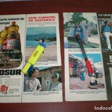 Coleccionismo de Revistas: JUAN CAMACHO EN GUATEMALA - RECORTE- LECTURAS AÑO 1975- VER DETALLES. Lote 168316692
