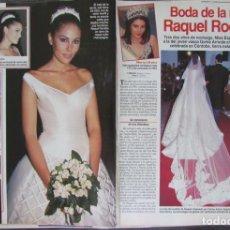 Coleccionismo de Revistas: RECORTE REVISTA LECTURAS Nº 2363 1997 RAQUEL RODRIGUEZ 4 PGS. Lote 168722260