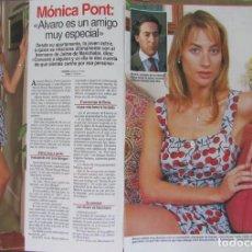 Coleccionismo de Revistas: RECORTE REVISTA LECTURAS Nº 2353 1997 MONICA PONT 4 PGS. Lote 168836532
