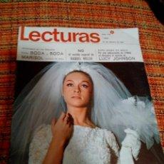 Coleccionismo de Revistas: REVISTA LECTURAS. Lote 169870944