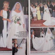 Coleccionismo de Revistas: RECORTE REVISTA LECTURAS Nº 2365 1997 MARTA SANCHEZ 3 PGS. Lote 170528856