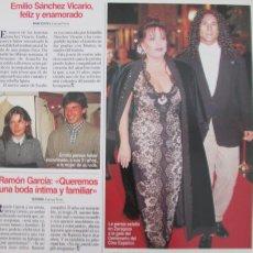 Coleccionismo de Revistas: RECORTE REVISTA LECTURAS Nº 2325 1996 MASSIEL. Lote 170867675