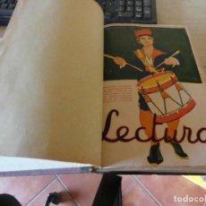 Coleccionismo de Revistas: PRECIOSO TOMO CON VARIOS NUMEROS DE LA REVISTA LECTURAS 1922. ESTADO EXCEPCIONAL. Lote 171033829