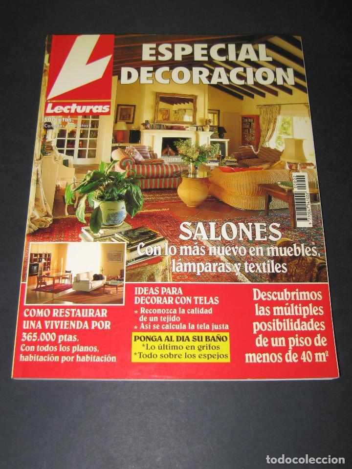 LECTURAS ESPECIAL DECORACIÓN NÚM. 2 - 1994 - 258 PÁG. (Coleccionismo - Revistas y Periódicos Modernos (a partir de 1.940) - Revista Lecturas)