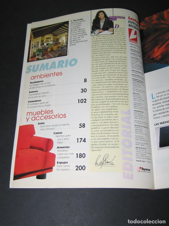 Coleccionismo de Revistas: LECTURAS Especial Decoración núm. 2 - 1994 - 258 pág. - Foto 2 - 171431602