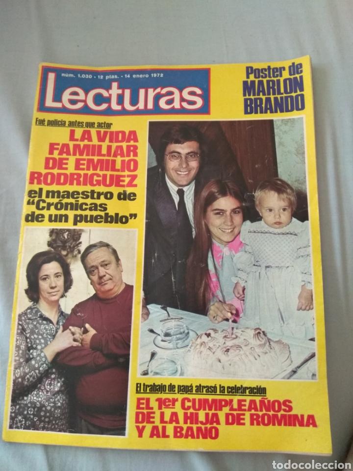 REVISTA LECTURAS 1972 - ROMINA ALBANO - GEORGE HARRISON - MARISOL - MARLON BRANDO - SOFÍA LOREN - (Coleccionismo - Revistas y Periódicos Modernos (a partir de 1.940) - Revista Lecturas)