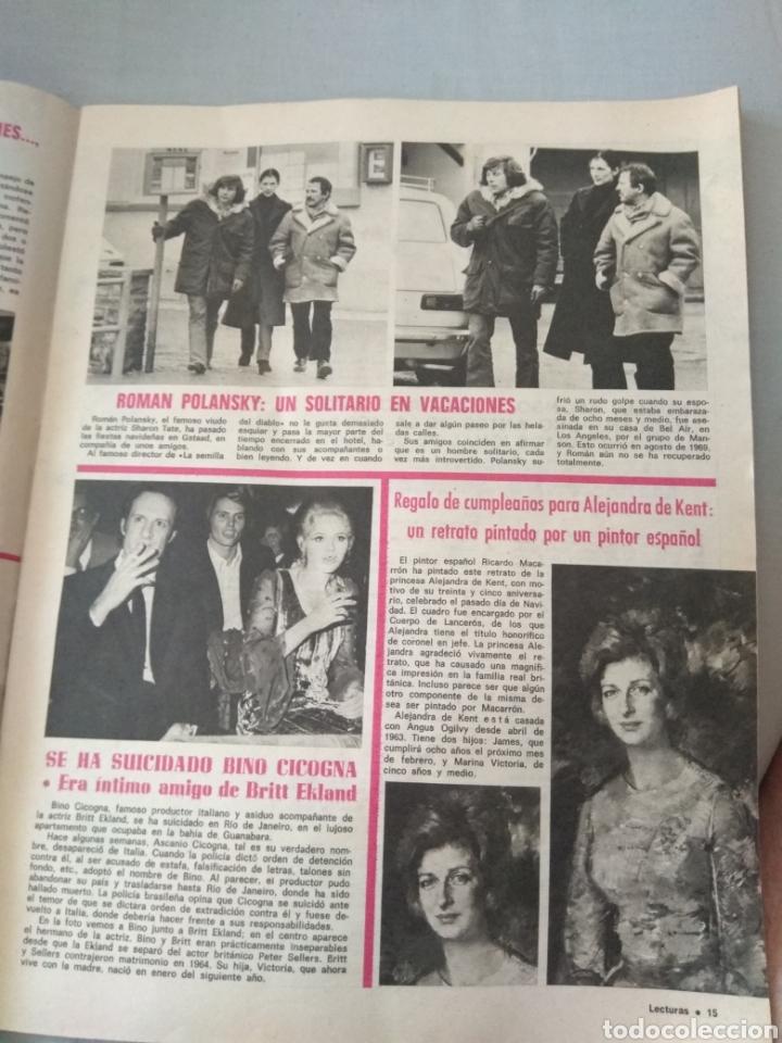 Coleccionismo de Revistas: Revista Lecturas 1972 - Romina Albano - George Harrison - Marisol - Marlon Brando - Sofía Loren - - Foto 5 - 171454787