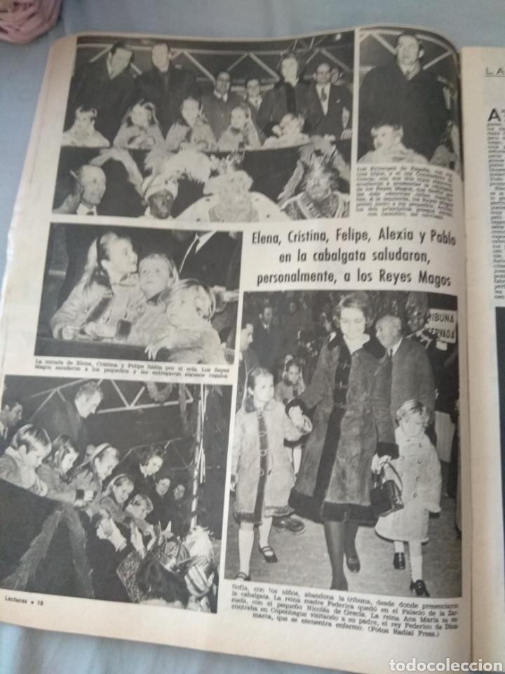 Coleccionismo de Revistas: Revista Lecturas 1972 - Romina Albano - George Harrison - Marisol - Marlon Brando - Sofía Loren - - Foto 6 - 171454787