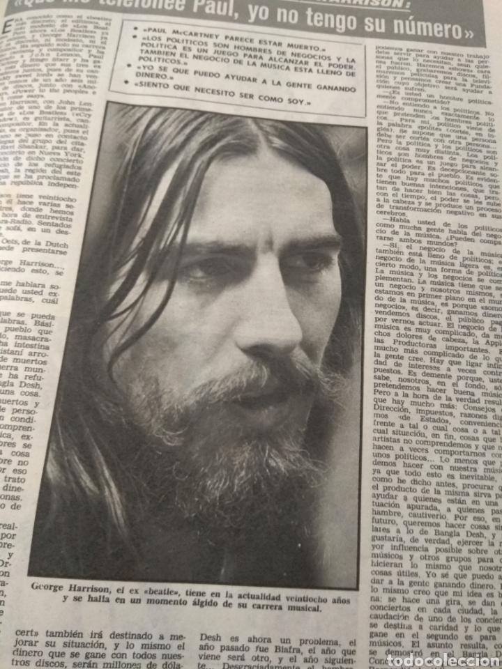 Coleccionismo de Revistas: Revista Lecturas 1972 - Romina Albano - George Harrison - Marisol - Marlon Brando - Sofía Loren - - Foto 14 - 171454787