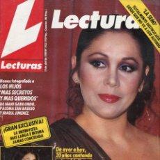 Coleccionismo de Revistas: LECTURAS Nº 1932 - ISABEL PANTOJA SU VIDA -OSCARS VESTIDOS- SILVIA MUNT- CLAUDIA CARDINALE- AÑO 1989. Lote 172919864