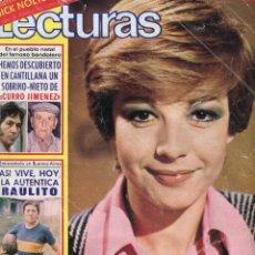 Coleccionismo de Revistas: LECTURAS Nº 1304- ISABEL TENAILLE-RAIMON-LUIS PEÑA-NICK NOLTE POSTER- WALDO DE LOS RIOS - AÑO 1977. Lote 172920178