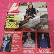 Coleccionismo de Revistas: LECTURAS-1989-ROCIO JURADO-ISABEL PANTOJA-ESTEFANIA-MARISOL-CARMEN CERVERA . Lote 172946660