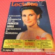 Coleccionismo de Revistas: LECTURAS Nº 952 DE 1970- SOFIA LOREN- BRIGITTE BARDOT- KARINA- LOS VENGADORES- MARLON BRANDO- Y+++ . Lote 172949517