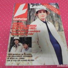Coleccionismo de Revistas: LECTURAS - 1985 - CARMEN MARTÍNEZ-BORDIÚ, ORNELLA MUTI, SILVIA MUNT, AGUSTÍN PANTOJA, ESTEFANÍA . Lote 172950400