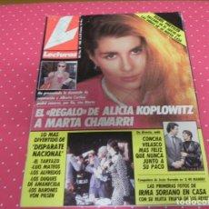 Coleccionismo de Revistas: REVISTA LECTURAS 16/03/1990 ROMINA Y ALBANO - ISABEL PREYSLER - CONCHA VELASCO . Lote 172954300