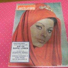 Coleccionismo de Revistas: REVISTA LECTURAS 30/04/1965 FARAH DIBA - SOFIA LOREN . Lote 172954612