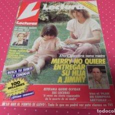 Coleccionismo de Revistas: REVISTA LECTURAS 01/07/1986 ISABEL PANTOJA - JIMMY - PALOMO LINARES . Lote 173093999