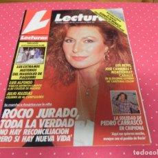 Coleccionismo de Revistas: LECTURAS-1989-ANA ALICIA-ESTEFANIA-ISABEL PANTOJA-ROCIO JURADO-JULIO IGLESIAS-ANA BELEN-LOCO MIA . Lote 173097213