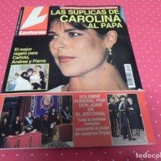 Coleccionismo de Revistas: LECTURAS Nº 2142. PEPA FLORES. CORAL BISTUER. ISABEL PANTOJA. PATRICK SWAYZE. LINEKER. ROCIO JURADO. Lote 173097883