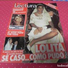 Coleccionismo de Revistas: LECTURAS Nº1638- 1983 - LOLITA, FAMA, RICHARD HATCH, SARA MONTIEL, JULIO IGLESIAS, MAYRA GOMEZ KEMP. Lote 173330620