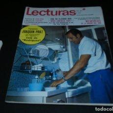 Coleccionismo de Revistas: REVISTA LECTURAS EN ESTADO ACEPTABLE 857 20 SEPTIEMBRE 1968 . Lote 173680143